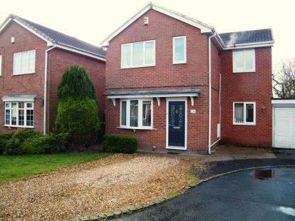 5 Bedrooms Detached House for sale in Osprey Avenue, Winsford, Cheshire, England