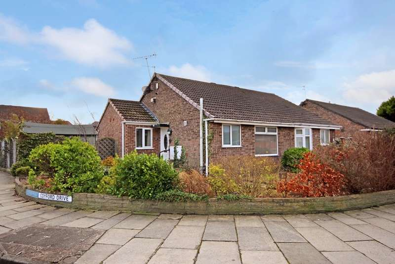 2 Bedrooms Semi Detached Bungalow for sale in Coyford Drive, Marshside, Southport