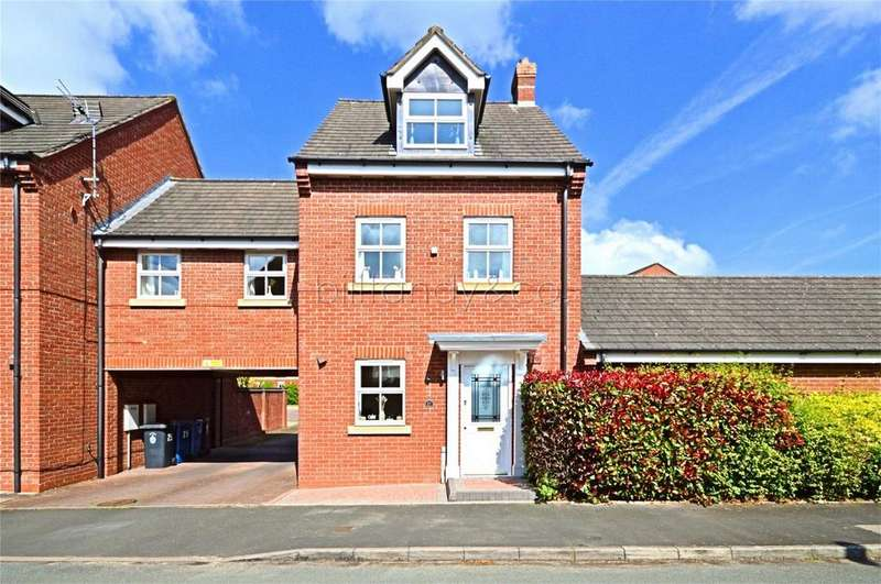 4 Bedrooms Semi Detached House for sale in Selwyn Road, Burntwood, Staffordshire