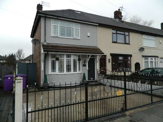 3 Bedrooms End Of Terrace House for sale in Carr Lane East, Liverpool, L11