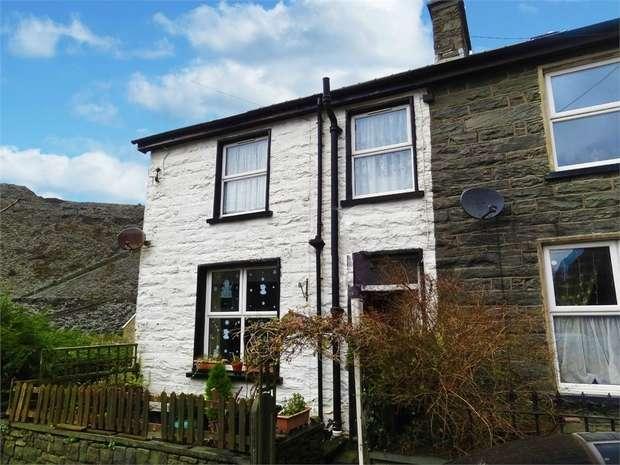 2 Bedrooms Semi Detached House for sale in Rhiwbryfdir, Blaenau Ffestiniog, Gwynedd