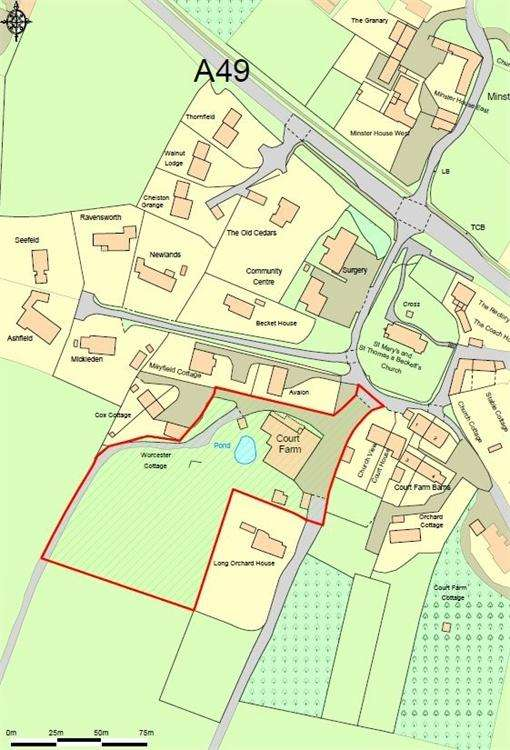 Land Commercial for sale in Much Birch, Hereford