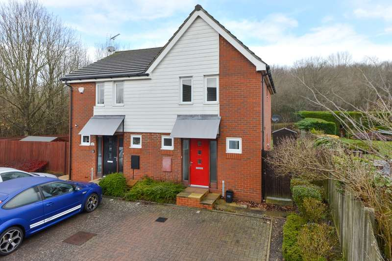 3 Bedrooms Semi Detached House for sale in Merlin Way, Ashford, TN23