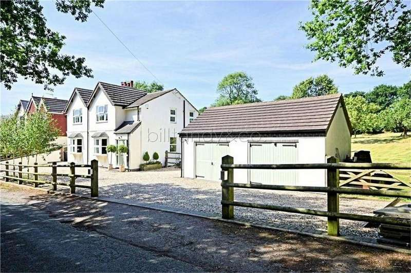 5 Bedrooms Detached House for sale in Springle Styche, Lane, Burntwood, Staffordshire