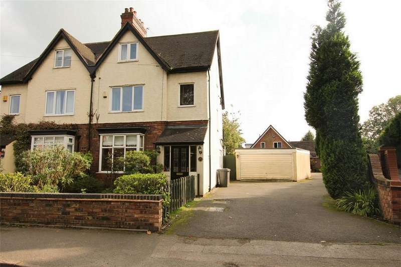 4 Bedrooms Semi Detached House for sale in Shortbutts Lane, Lichfield, Staffordshire