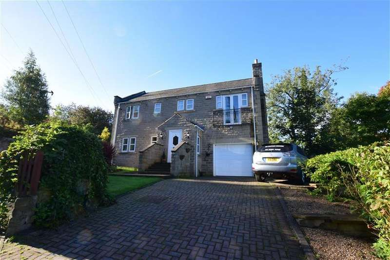 4 Bedrooms Detached House for sale in Blenheim Chase, Scisset, Huddersfield, HD8