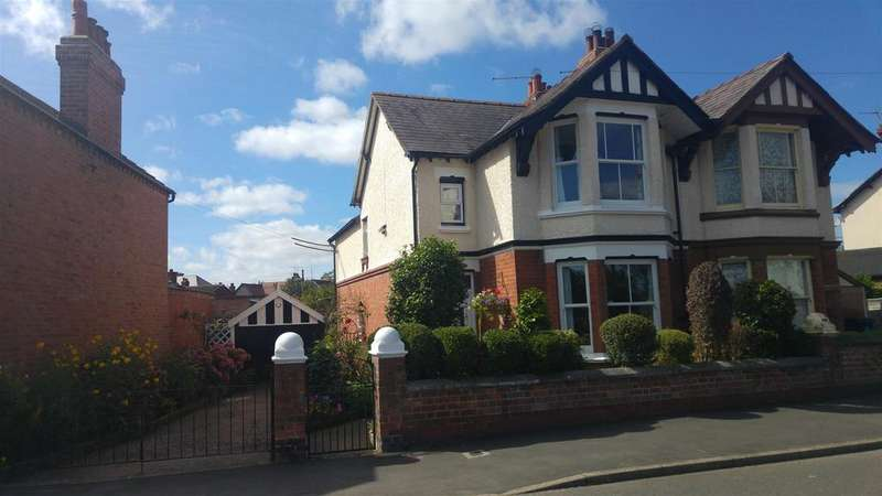 3 Bedrooms Semi Detached House for sale in Station Road, Wem, Shropshire
