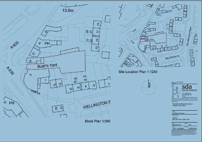 Land Commercial for sale in Land At Bushs Yard, Moorgate, Retford
