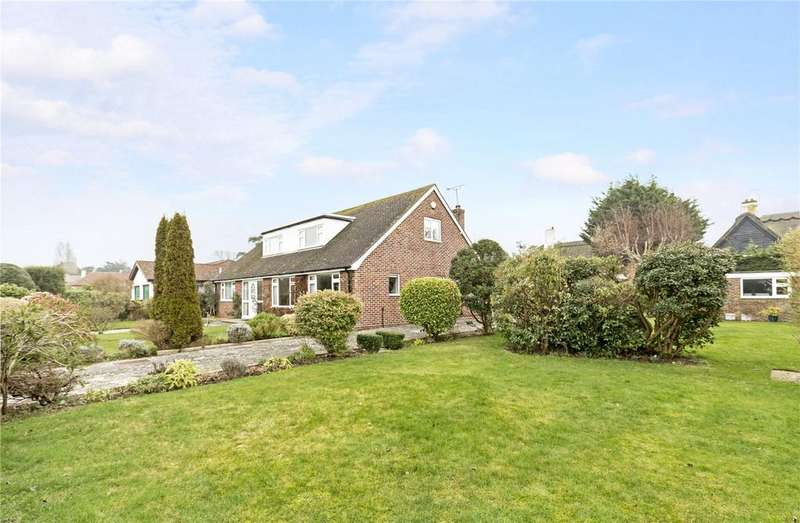 4 Bedrooms Detached Bungalow for sale in Tithe Barn Close, Aldwick Bay Estate, Bognor Regis, West Sussex