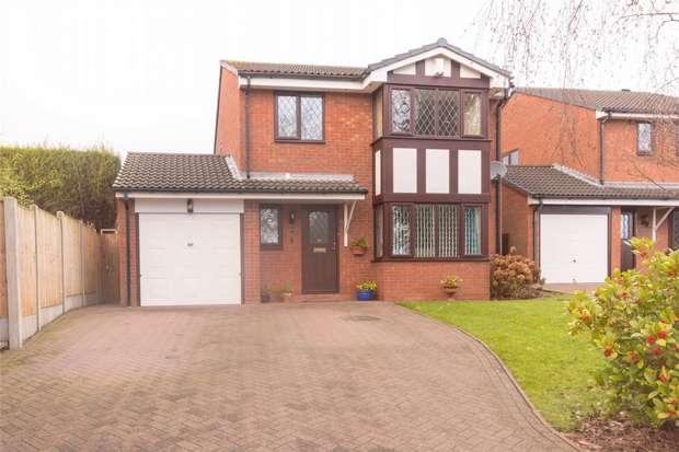 4 Bedrooms Detached House for sale in Wissage Lane, Lichfield, Staffordshire
