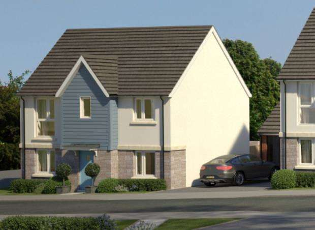 3 Bedrooms Detached House for sale in Godrevy Parc, Hayle, Cornwall