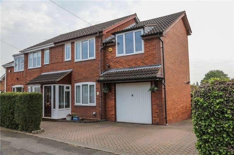 3 Bedrooms Semi Detached House for sale in Parkwood Road, Bromsgrove, Worcestershire, B61