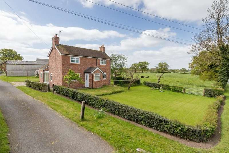 3 Bedrooms Detached House for sale in Walgherton, Cheshire