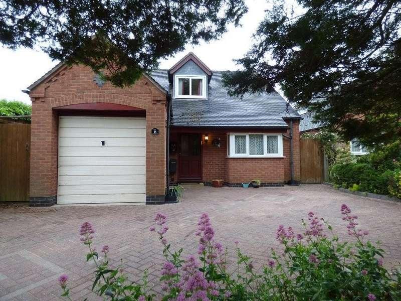 3 Bedrooms Bungalow for sale in Wellfield Road, Alrewas