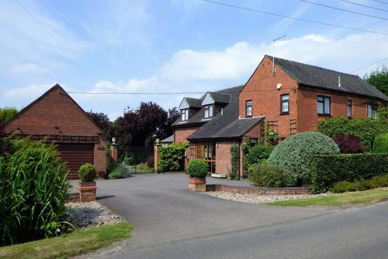 5 Bedrooms Detached House for sale in Woodhouses, Yoxall