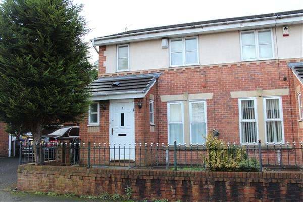 3 Bedrooms Semi Detached House for sale in Cloister Street, Manchester
