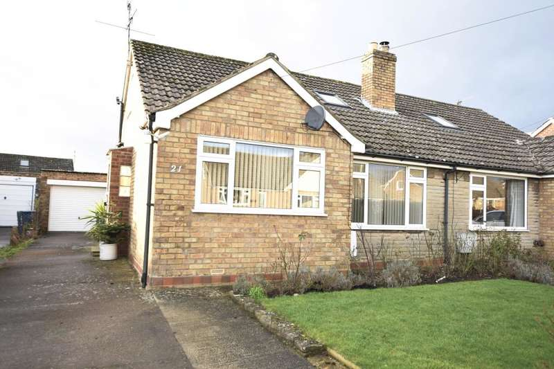 3 Bedrooms Semi Detached Bungalow for sale in Candler Avenue, West Ayton, Scarborough, North Yorkshire YO13 9JN