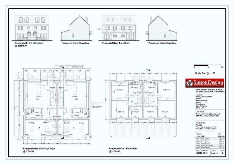 4 Bedrooms Semi Detached House for sale in Kirkland Street, York