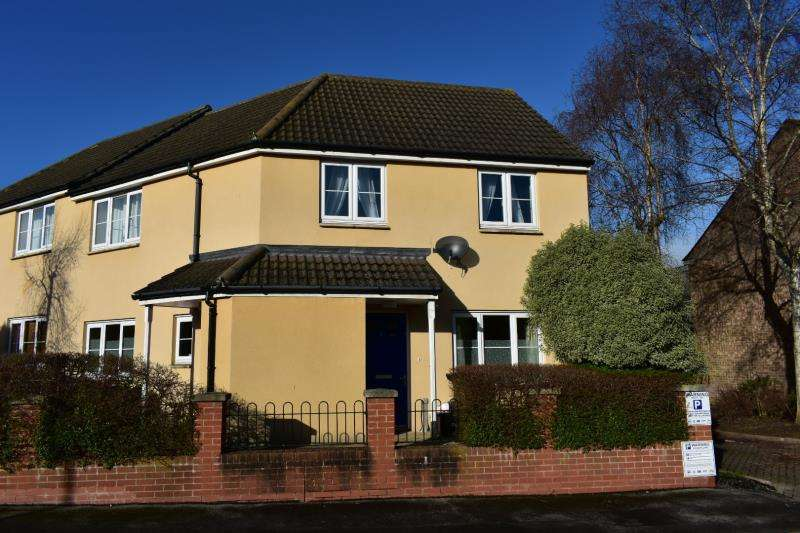 2 Bedrooms Ground Flat for sale in Northfield Court, French Weir, Taunton, Somerset, TA1 1AD