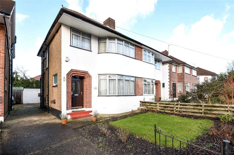 3 Bedrooms Semi Detached House for sale in Ferncroft Avenue, Ruislip, Middlesex, HA4