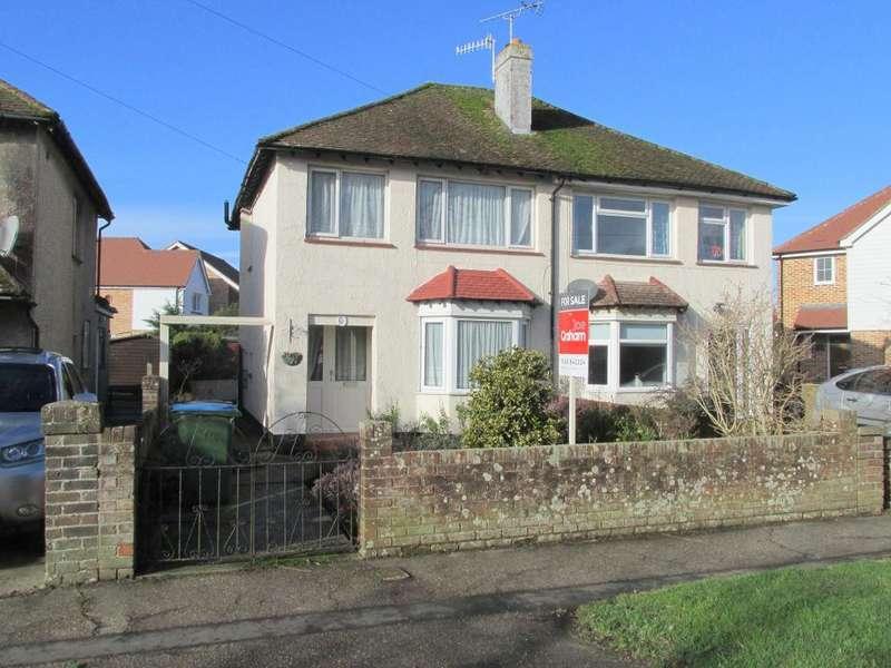 3 Bedrooms Semi Detached House for sale in Bucksham Avenue, North Bersted, Bognor Regis, West Sussex, PO21 5DT