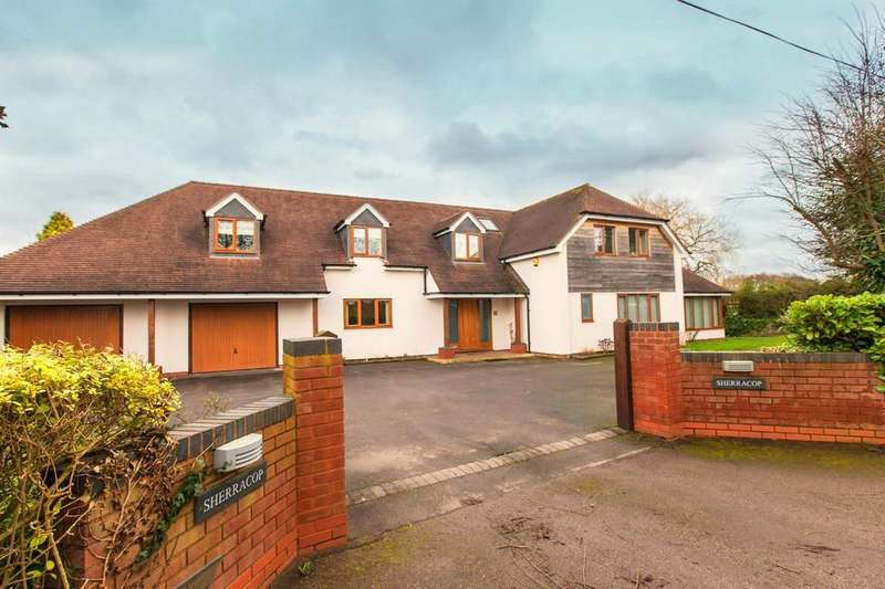 5 Bedrooms Detached House for sale in Sherracop, Stockwell Heath