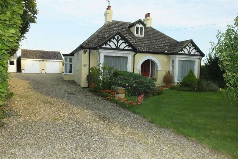 3 Bedrooms Detached Bungalow for sale in Wythes Lane, Fishtoft, Boston, Lincolnshire