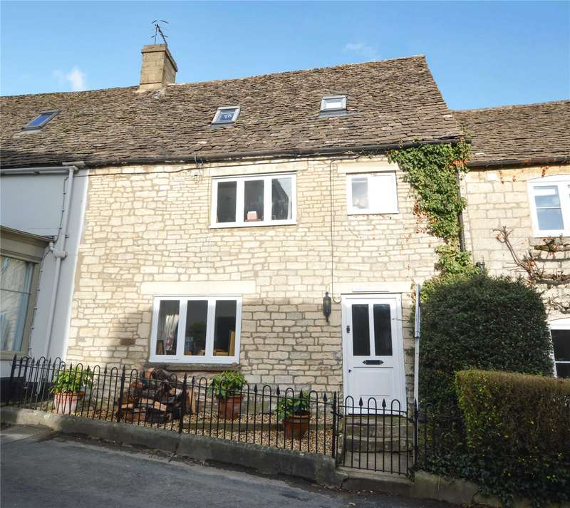 3 Bedrooms Terraced House for sale in Selsley Road, North Woodchester, Stroud, Gloucestershire, GL5