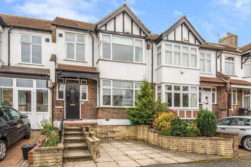 3 Bedrooms Terraced House for sale in Grange Road, South Croydon, Surrey, CR2 0NF