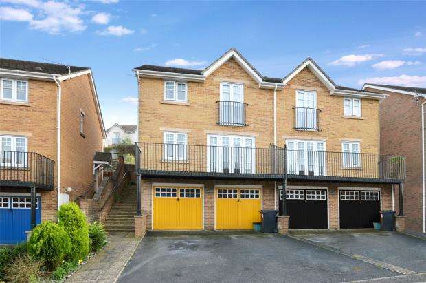 3 Bedrooms Semi Detached House for sale in Hamilton Drive, Newton Abbot, Devon