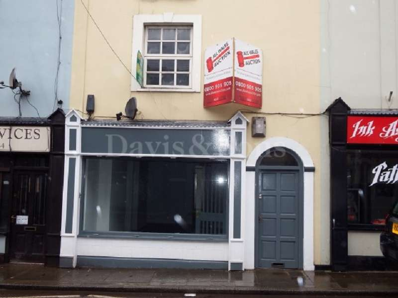 Shop Commercial for rent in Clarence Street, Pontypool, Monmouthshire. NP4 6LG
