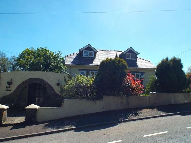 5 Bedrooms Detached Bungalow for sale in Meadows Road, Cross Hands, Cross Hands, Llanelli