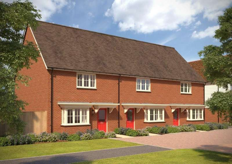 3 Bedrooms Terraced House for sale in Windsor Meadow, 23 Blossom Way, Marden, TN12