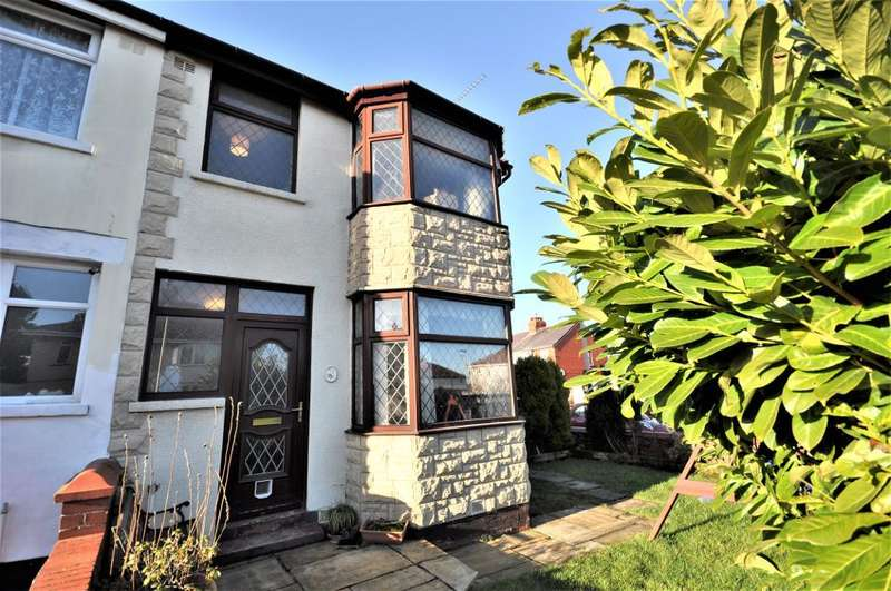 3 Bedrooms Semi Detached House for sale in St Leonard's Road, Blackpool, Lancashire, FY3 9RE