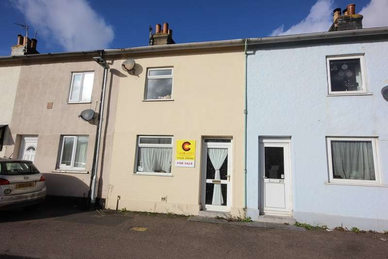 2 Bedrooms Terraced House for sale in Bradley Lane, Newton Abbot