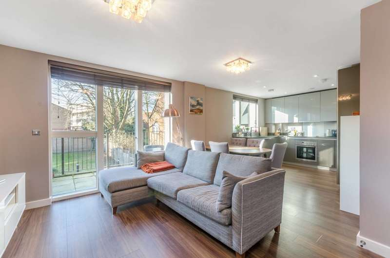 2 Bedrooms Flat for sale in Roehampton Lane, Roehampton, SW15