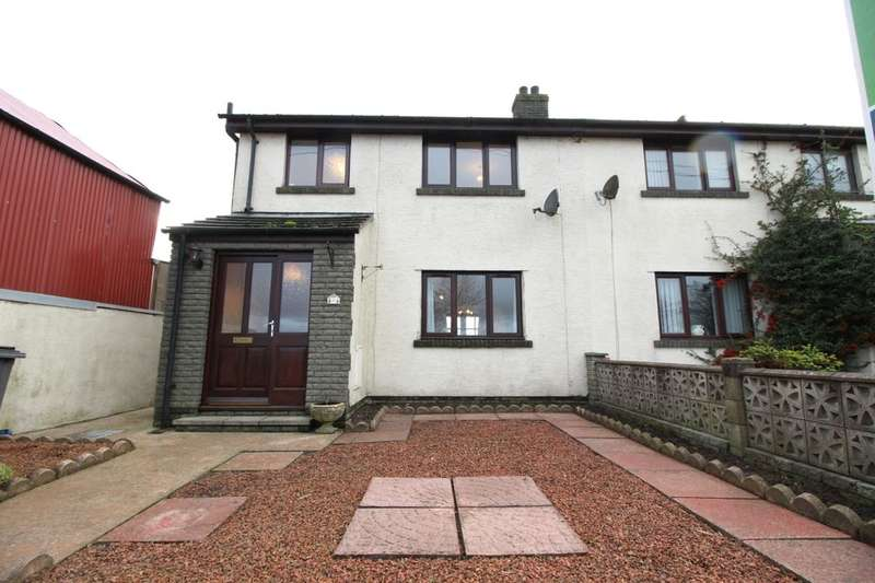 3 Bedrooms Semi Detached House for sale in Abbeytown, Wigton, CA7