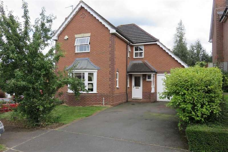 4 Bedrooms Detached House for sale in Wadkins Way, Bushby