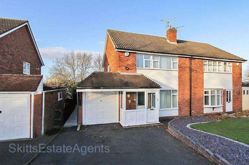 3 Bedrooms Semi Detached House for sale in Ambergate Close, Bloxwich Walsall