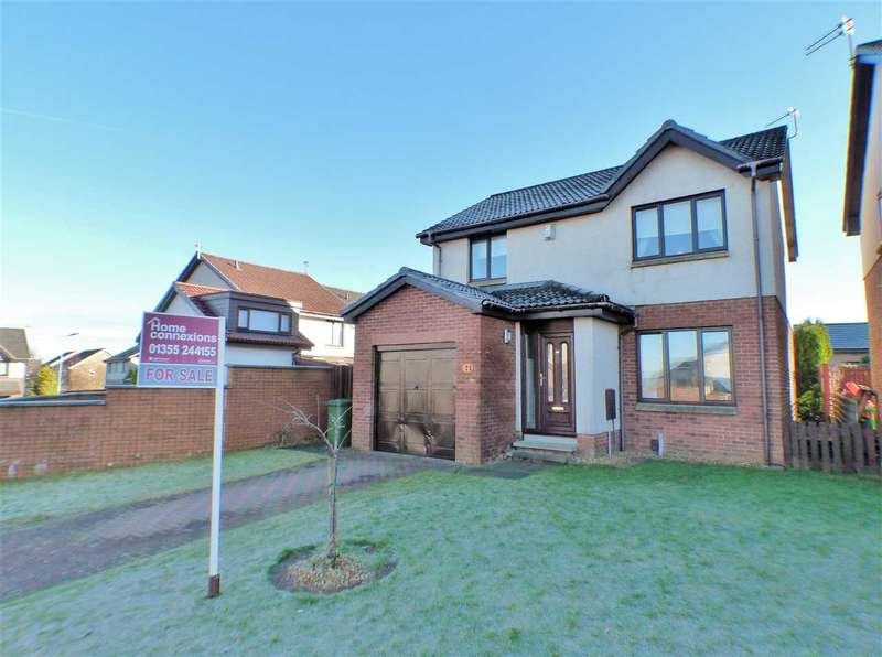 3 Bedrooms Detached House for sale in Cheviot Crescent, EAST KILBRIDE