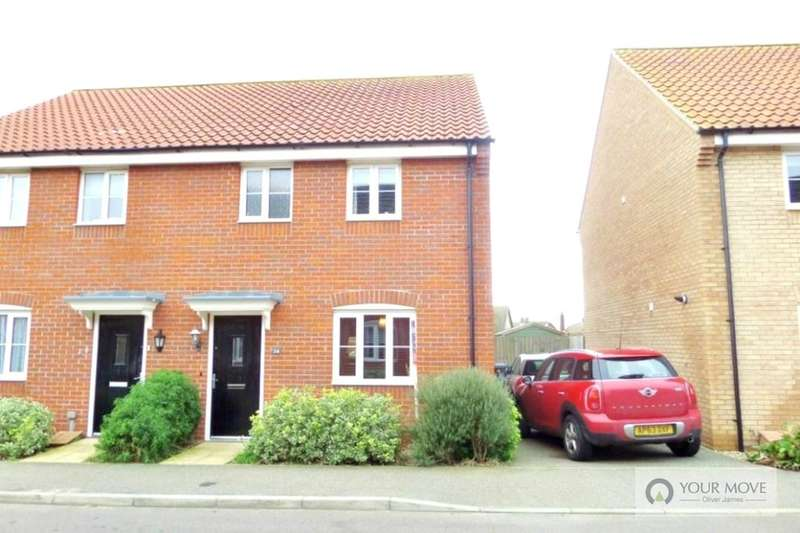 3 Bedrooms Semi Detached House for sale in Aspen Road, Caister-On-Sea, Great Yarmouth, NR30