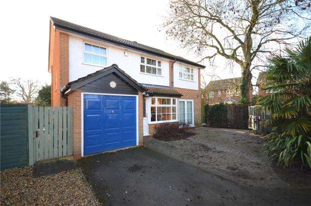 4 Bedrooms Detached House for sale in Chittering Close, Lower Earley, Reading