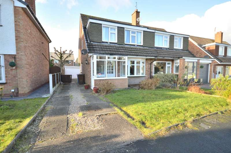 3 Bedrooms Semi Detached House for sale in SUNNINGDALE DRIVE, Bramhall