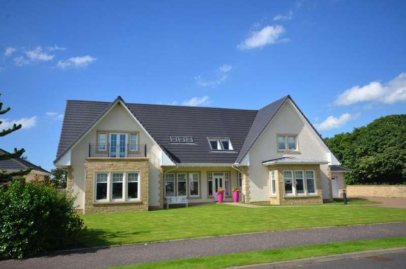 4 Bedrooms Detached Villa House for sale in 6 Belleisle Drive, Ayr, KA7 4BN