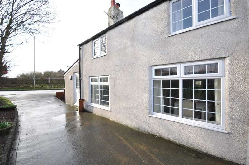 3 Bedrooms Semi Detached House for sale in Cornah Row Cottage, Fleetwood Road, Greenhalgh, Preston, Lancashire, PR4 3HE