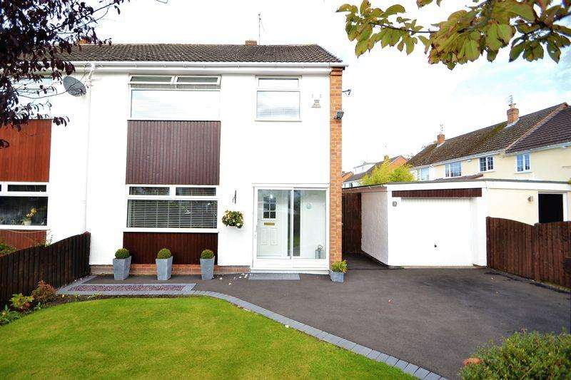 3 Bedrooms Semi Detached House for sale in Carol Drive, Heswall