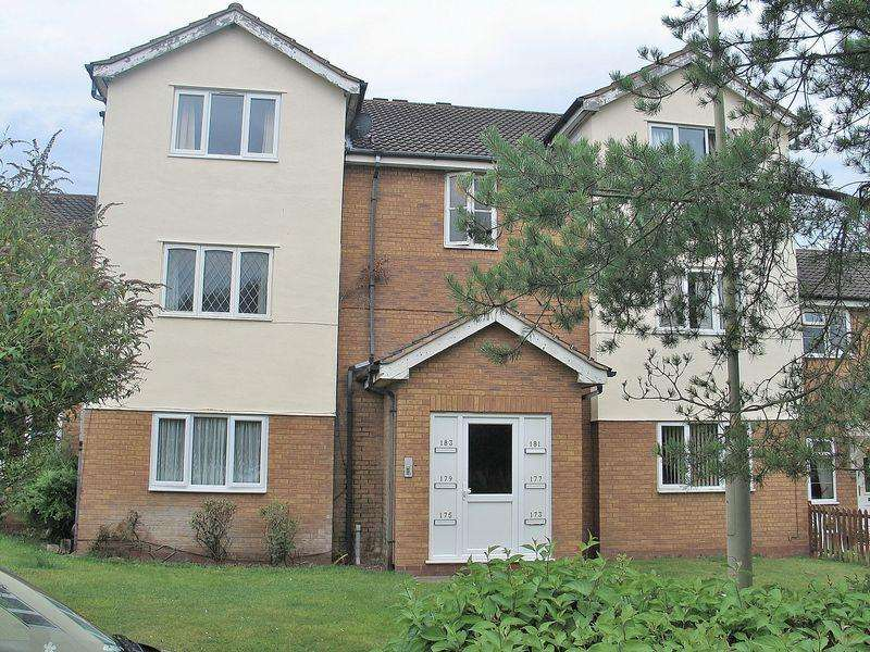 2 Bedrooms Apartment Flat for sale in Foxdale Drive, BRIERLEY HILL DY5 3GZ