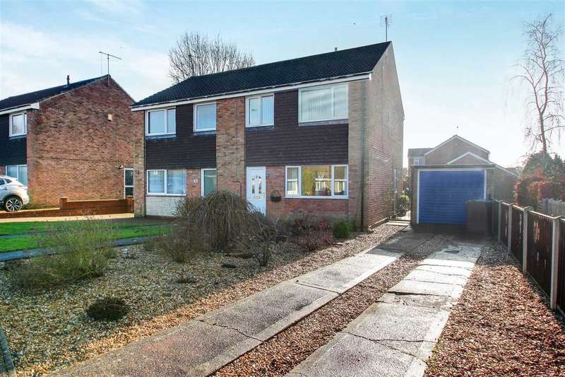 3 Bedrooms Semi Detached House for sale in Harwich Close, Lincoln