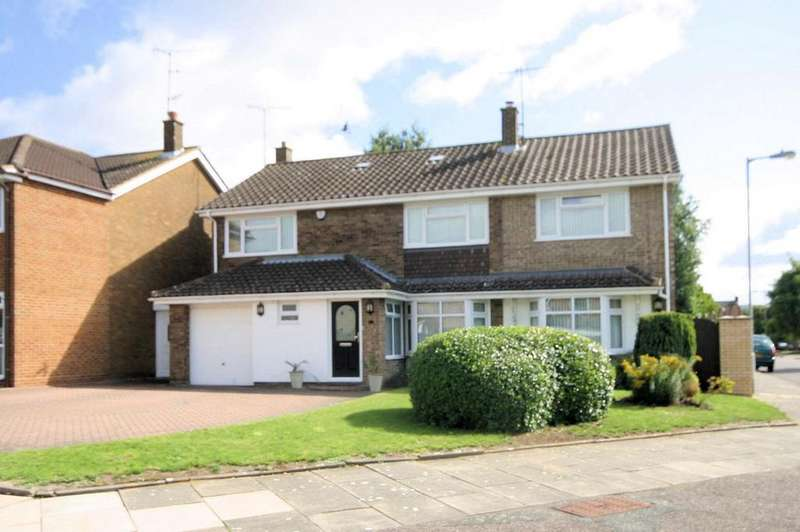5 Bedrooms Detached House for rent in Foxbury Close, Luton