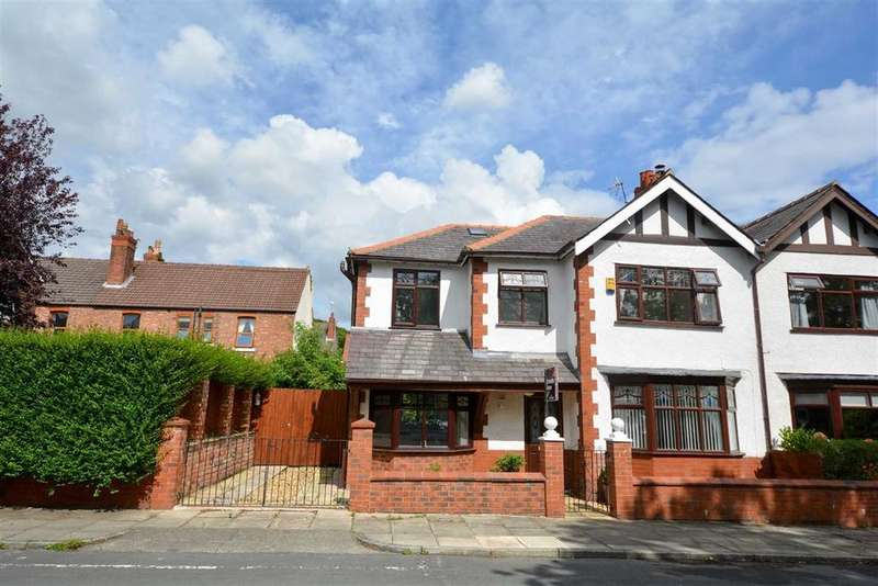4 Bedrooms Semi Detached House for sale in Somerville Road, Whitley, Wigan, WN1